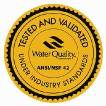 Gold Seal der Water Quality Association
