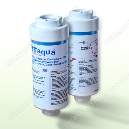 fitaqua water filter for washing machine dishwasher x2 ebay. Black Bedroom Furniture Sets. Home Design Ideas
