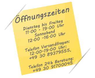 Öffnungszeiten Wasserstelle Berlin