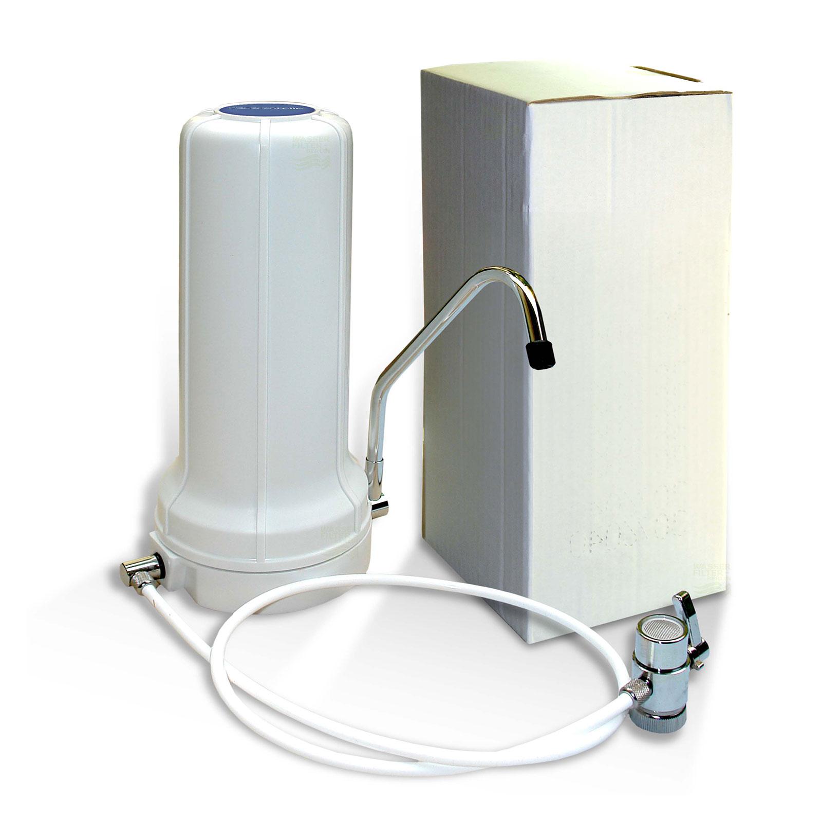 Auftischfilter Wasserfilter Bausatz mit Carbonit NFP Premium Filter ...