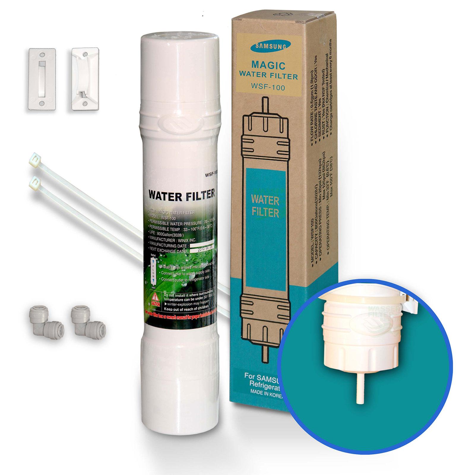 Samsung WSF-100 v2 Magic Water Filter Kühlschrankfilter WSF100 für ...