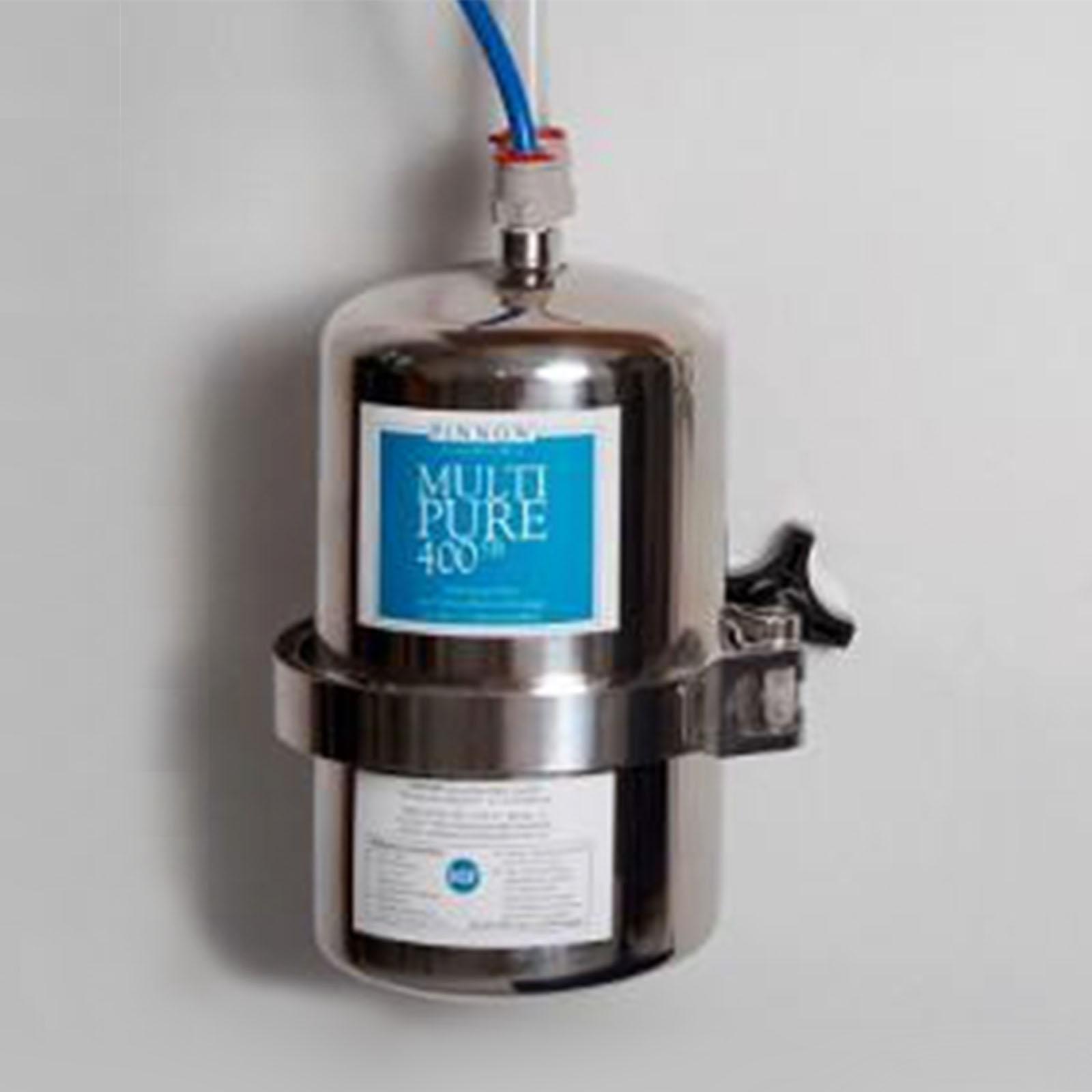 Multipure MP-400SB, Edelstahl-Untertisch-/Einbaufilter Wasserfilter ...