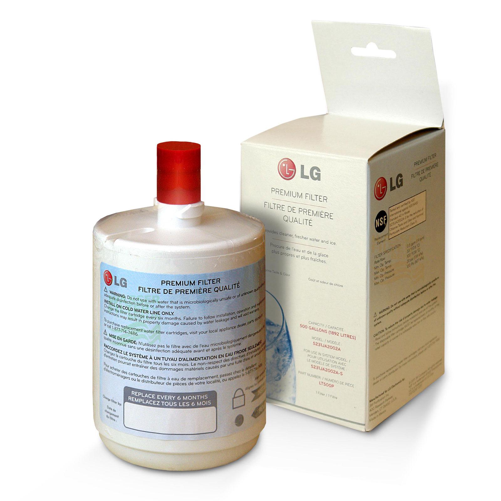 ADQ72910901 LG Wasserfilter LT500P / 5231JA2002A, interner ...