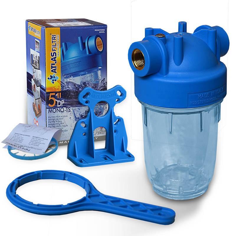 Neu 5 Zoll Wasserfilter Gehäuse Italy, Innengewinde 1/2 Zoll  FF16