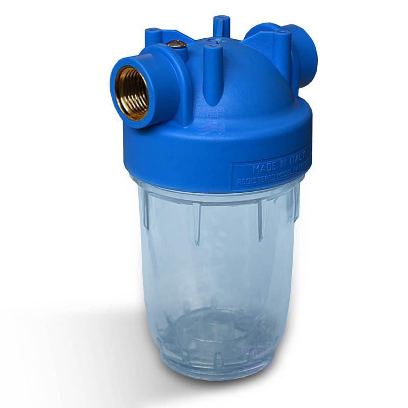 Neu 5 Zoll Wasserfilter Gehäuse Italy, Innengewinde 1 Zoll  FF16