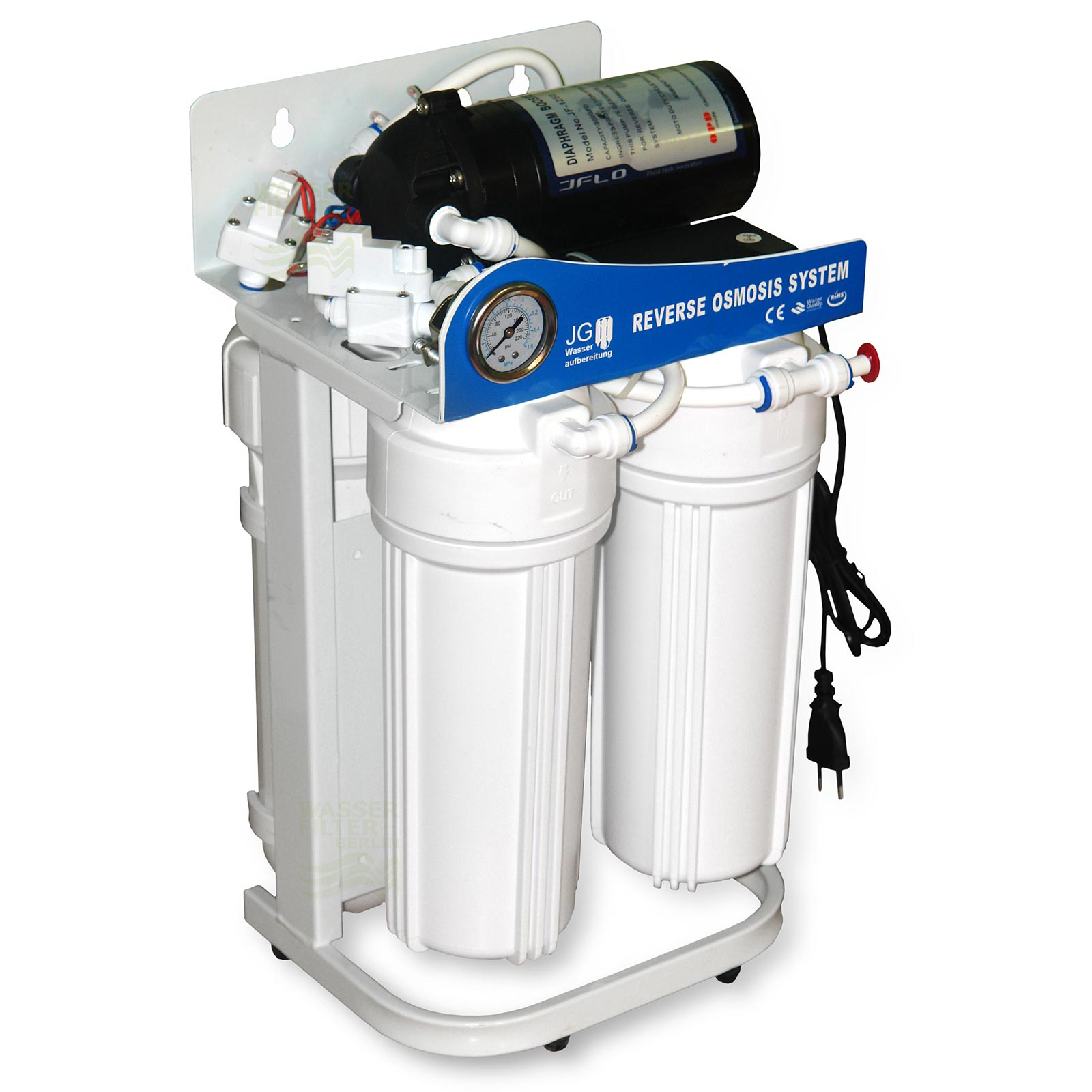Mini Direct Flow Umkehrosmose-Anlage 300 GPD Wasserfilter ...