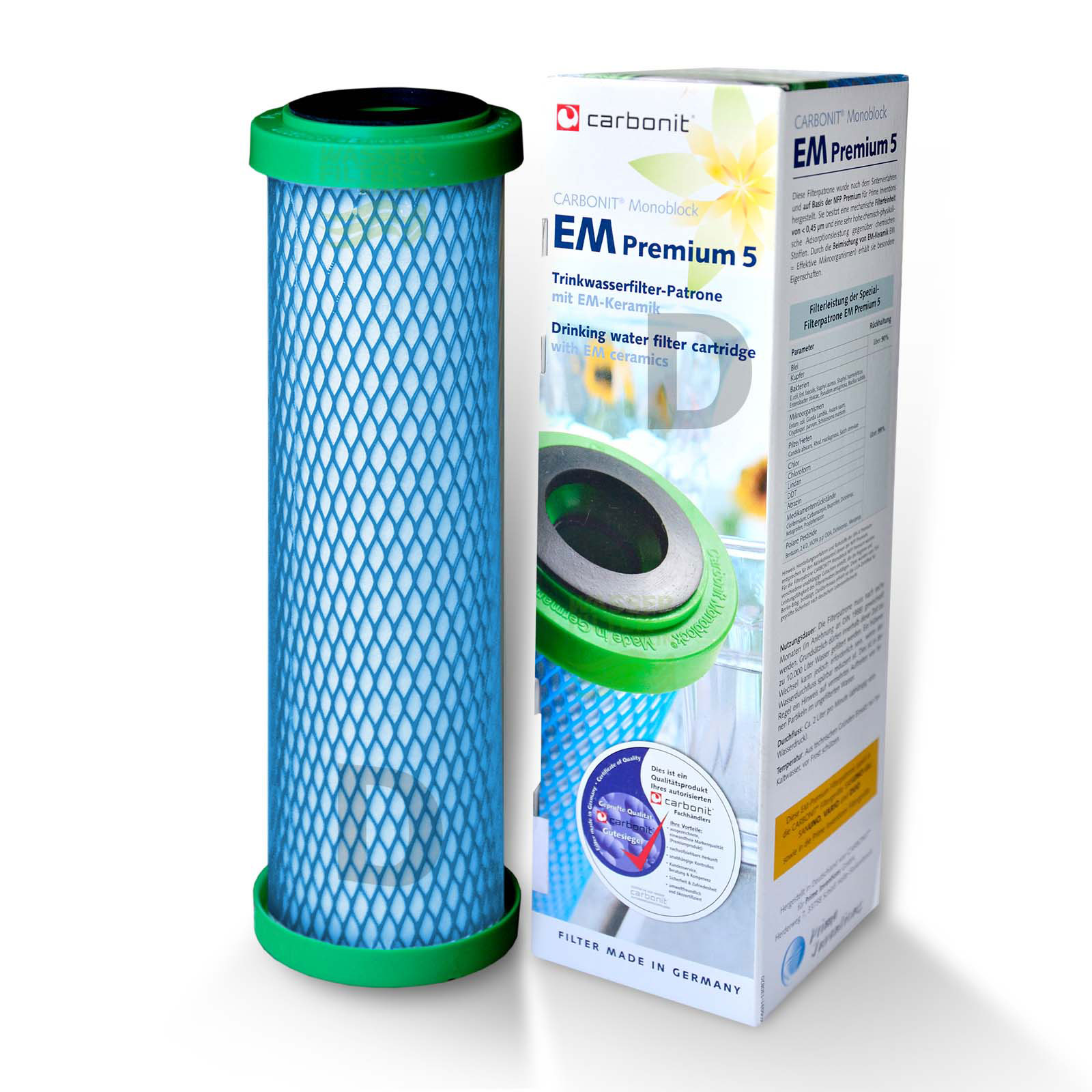 Carbonit EM Premium 5-D 2,5-3 L/min Wasserfilter/Umkehrosmose WHG ...